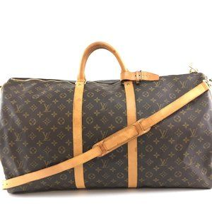 Louis Vuitton Keepall Bandouliere with Strap 60